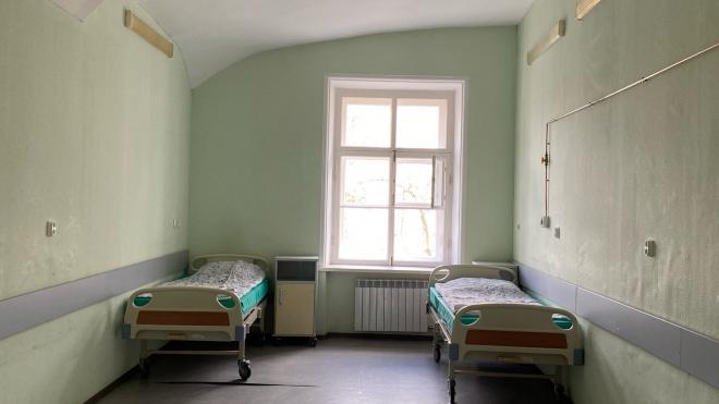 Перед больницей в Пушкине выстроилась очередь из скорых