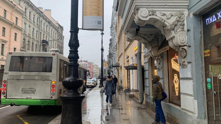 """Жители МО """"Смольнинское"""" жалуются на отсутствие павильонов на остановках общественного транспорта"""