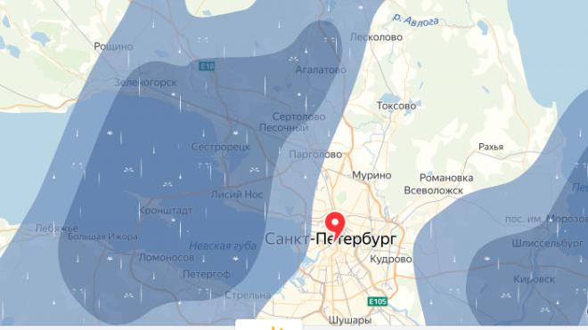 Синоптики: к выходным дожди должны покинуть Петербург