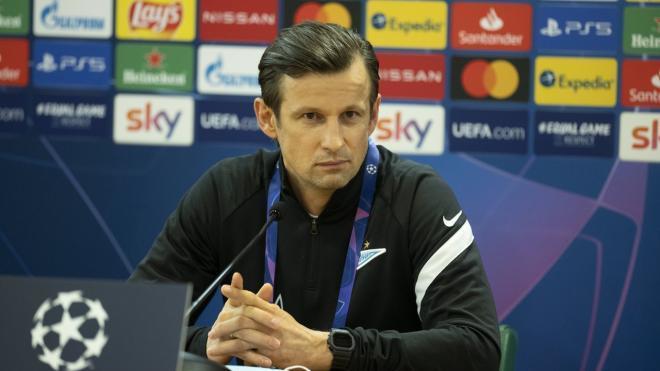 """Тренер """"Зенита"""" Семак ответил на вопрос о своей отставке"""