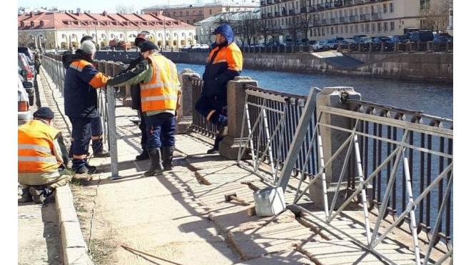 """Петербуржцы просят убрать""""уродливые заборы"""" вдоль канала Грибоедова"""