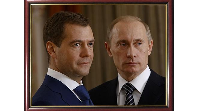 Медведев крупному бизнесу: с кем вы – со мной или с Путиным?