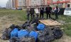 Активисты снова вышли на уборку мусора в Мурино