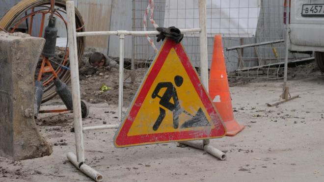 Движение по участку Пулковского шоссе ограничат до конца ноября