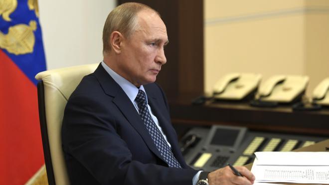 Путин направил Китаю соболезнования из-за последствий наводнений