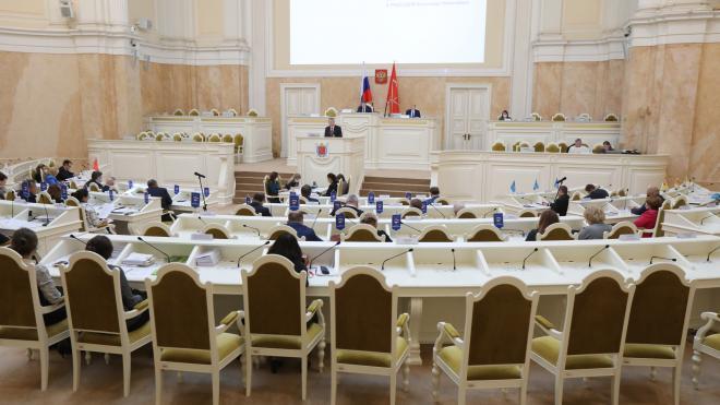 В Мариинском дворце обсудили изменения в избирательной системе Петербурга