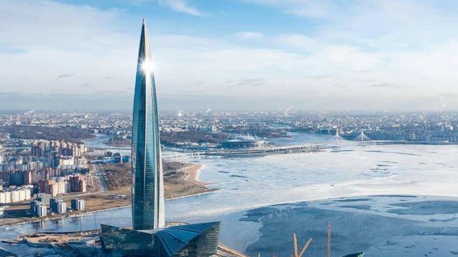"""""""Газпром"""" расторг договор на обустройство """"Лахта центра"""""""