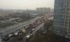 Петербуржцы опоздали на работу из-за сломанного светофора на Маршала Жукова