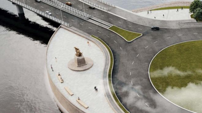 Градсовет во второй раз рассмотрит проект памятника Петру I, спасающему утопающих
