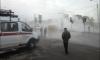В Кировском районе прорвало теплотрассу