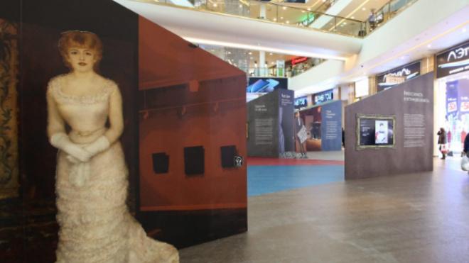 """В """"Галерее"""" открылась 3D-выставка картин из Эрмитажа"""