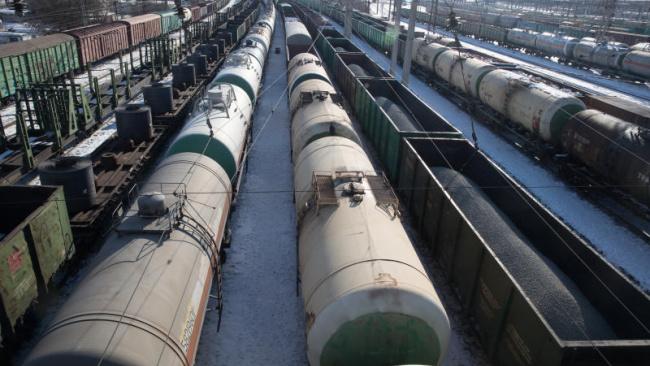 В мае  перевозки грузов железной дорогой снизились на 5,4%