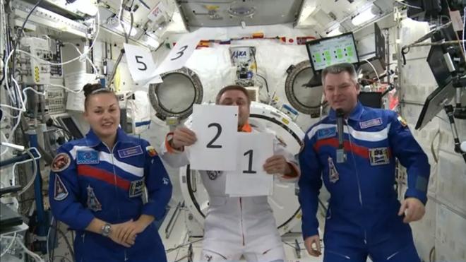 Жеребьевку ЧМ-2018 открыли Путин, Инфантино и космонавты