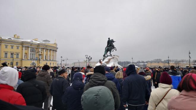 Что известно об уголовных делах после митинга 23 января в Петербурге