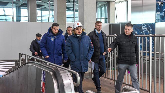 """КРТИ будет следить за ходом ремонта на станции """"Зенит"""". Открытия ждут к Евро"""
