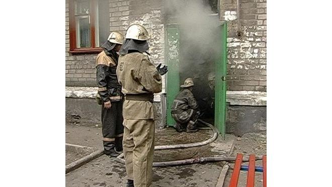 Пожар на Кавалергардской: 15 человек эвакуировано