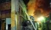 В Петербурге пожарные тушили горящий цех по производству носков