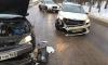 В Ленобласти таксист спровоцировал ДТП и собрал огромную пробку