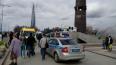 Петербуржец с ребенком попал под движущийся танк в Парке...