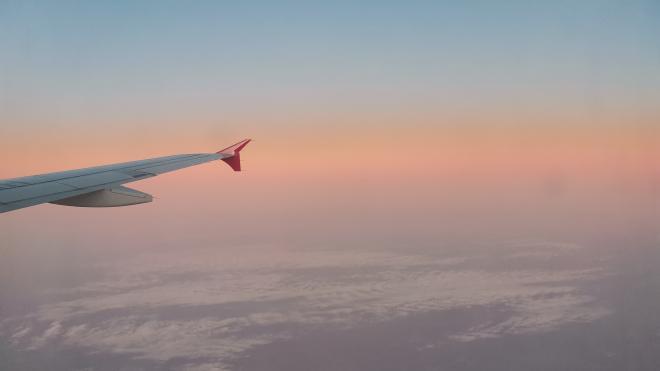 Летящий в Москву из-за границы самолет приготовился к аварийной посадке