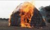 Дети заживо сожгли трехлетнего мальчика, играя с зажигалкой