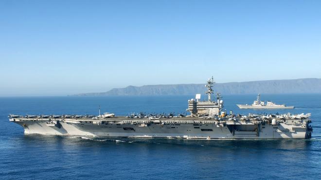 США назвали Россию одной из главных угроз для господства на море