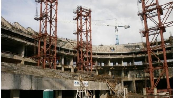 """Крышу """"Зенит-Арены"""" начнут строить уже летом"""