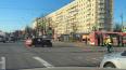 Пискаревский проспект парализован после ДТП с автобусом