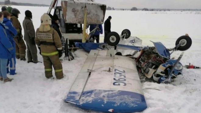Стала известна причина падения легкомоторного самолета в Ломоносовском районе