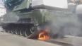 На параде Победы в Чите у ракетной установки загорелся ...