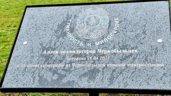 В парке Сахарова появится Аллея ликвидаторов-чернобыльцев