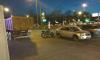 На пересечении Народной и Большевиков столкнулись два автомобиля и мотоцикл