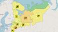 В Петербурге и Ленобласти объявлен желтый уровень ...