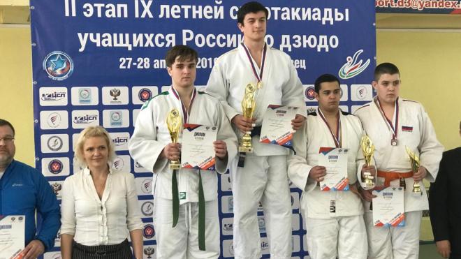 Выборжанка одержала победу во втором этапе девятой летней спартакиады учащихся России по дзюдо