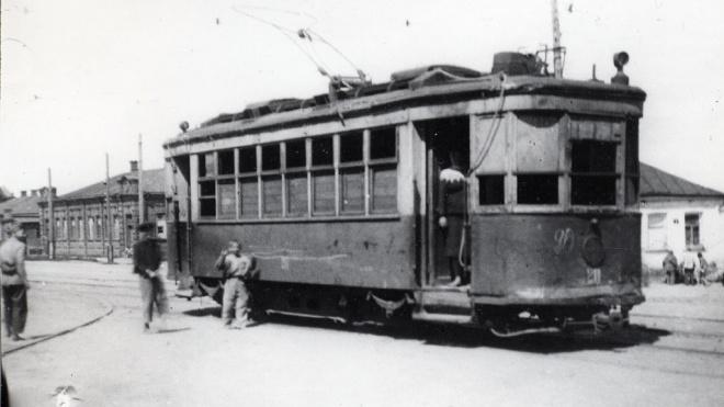 В Петербург привезут столетний трамвай из Новосибирска