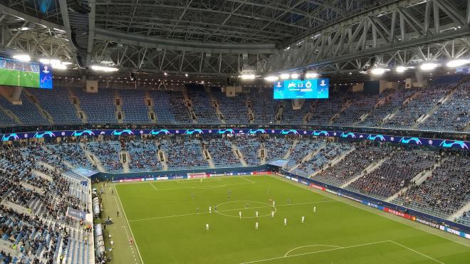 """""""Зенит"""" проиграл в домашнем матче со счетом 1:2"""