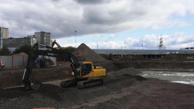 До конца 2019 года строители развязки сделают съезды в западное Мурино