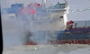Пожар на сухогрузе под Петербургом локализован