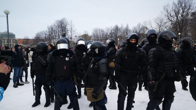Парламенту Петербурга предлагают пересмотреть полномочия полиции на митингах