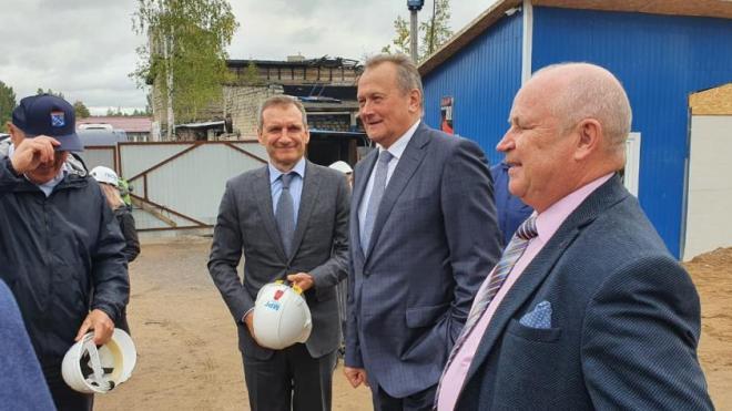 Губернатор Ленобласти посетил Светогорск