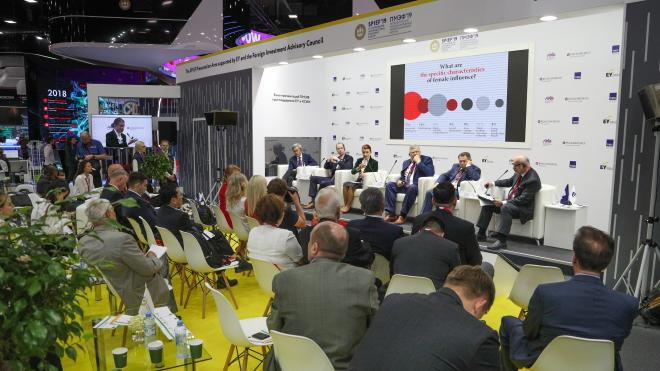 Подготовка к ПМЭФ-2021 в Петербурге уже началась