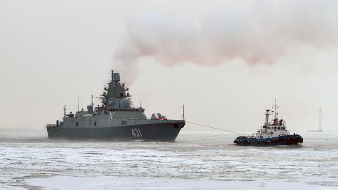 """Северная верфь испытывает фрегат """"Адмирал флота Касатонов"""""""
