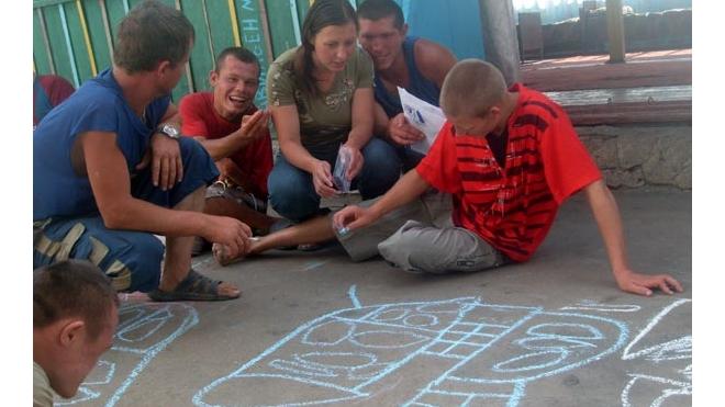 Дети порадовали ветеранов своим творчеством
