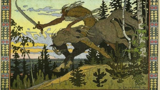 Шесть картин Билибина варварски вырезали из рам в Петербурге