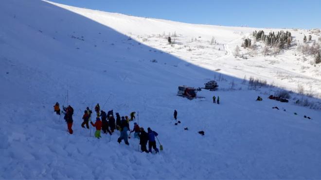 В Хакасии при сходе лавины погиб турист из Татарстана