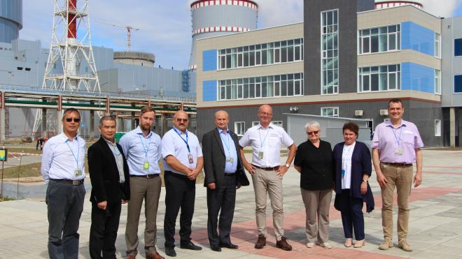 Международные эксперты проверили энергоблок Ленинградской АЭС