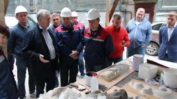 Жилищный комитет провёл мониторинг работ по капитальному ремонту жилых домов