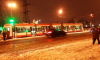 На Ириновском встали трамваи из-за смерти пассажира