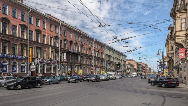 На Владимирском проспекте ограничат движение почти на год