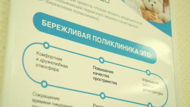 """Митянина рассказала о развитии """"Бережливой поликлиники"""" в Петербурге"""